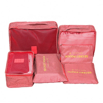 Portable Large Capacity Travel Packing Cubes