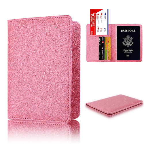 Bright Surface Anti-magnetic Passport Holder