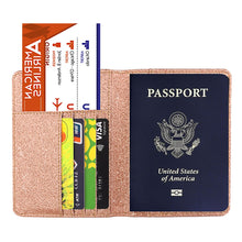 Load image into Gallery viewer, Bright Surface Anti-magnetic Passport Holder