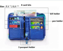 Load image into Gallery viewer, Cute Nylon Waterproof Travel Passport Cover