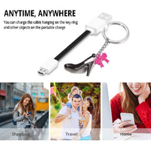 Load image into Gallery viewer, Micro USB Portable Pocket Phone Cable
