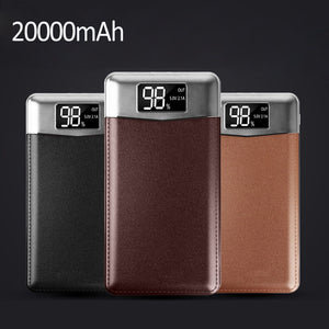 Portable Double USB Power Bank