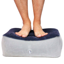 Load image into Gallery viewer, Portable Inflatable Foot Rest