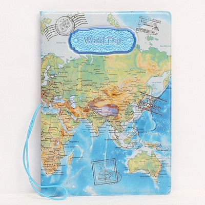 Fashion Leather Passport Holder