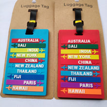 Load image into Gallery viewer, Creative Cartoon Silica Gel Luggage Tag