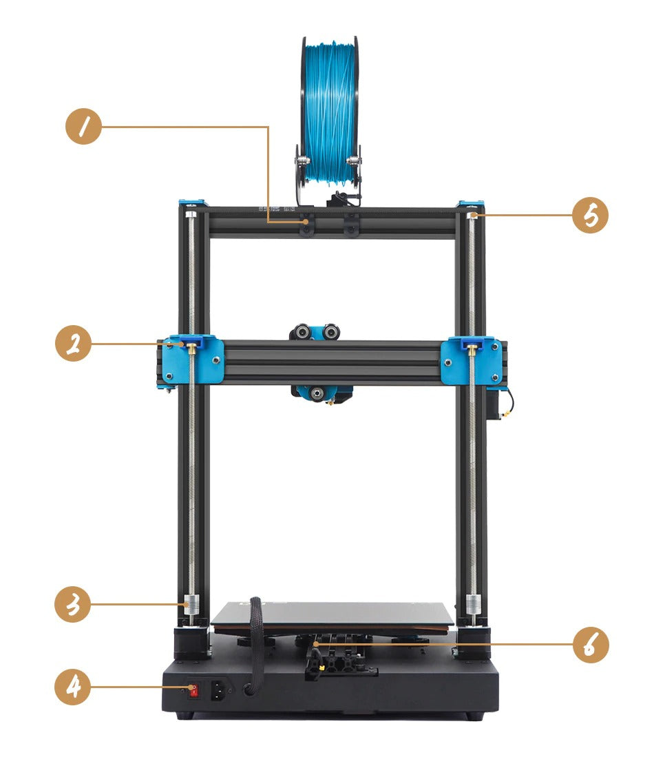 Artillery Sidewinder X1 SW-X1 3D Printer 300x300x400mm