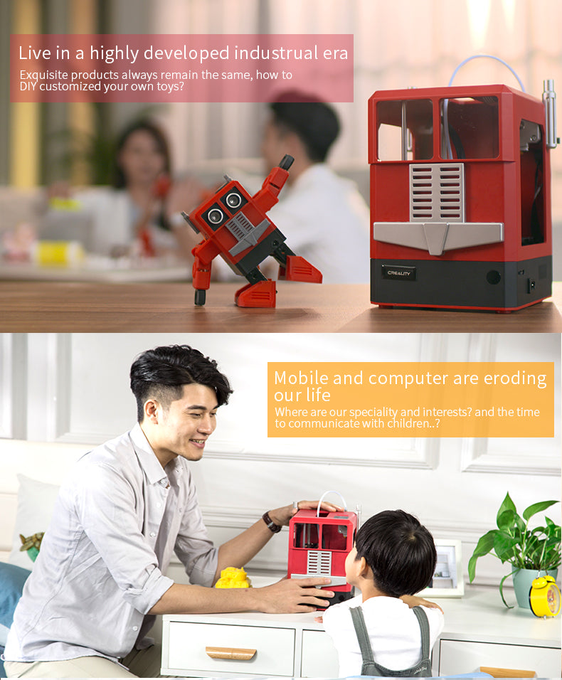 Creality 3D printer CR-100 for children