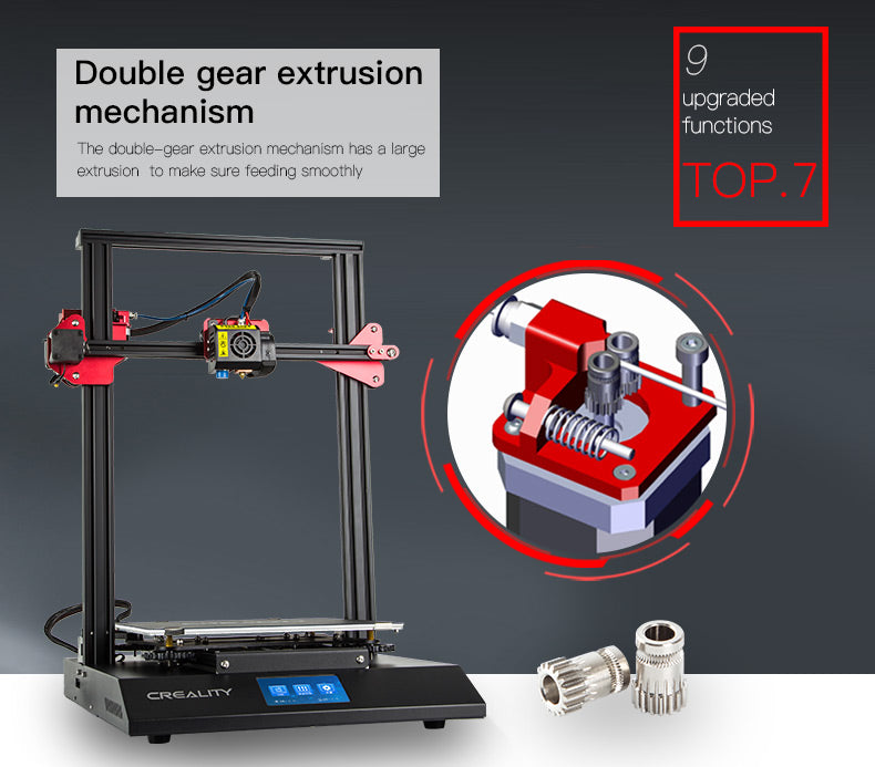 3D Printer CR-10S Pro Auto leveling