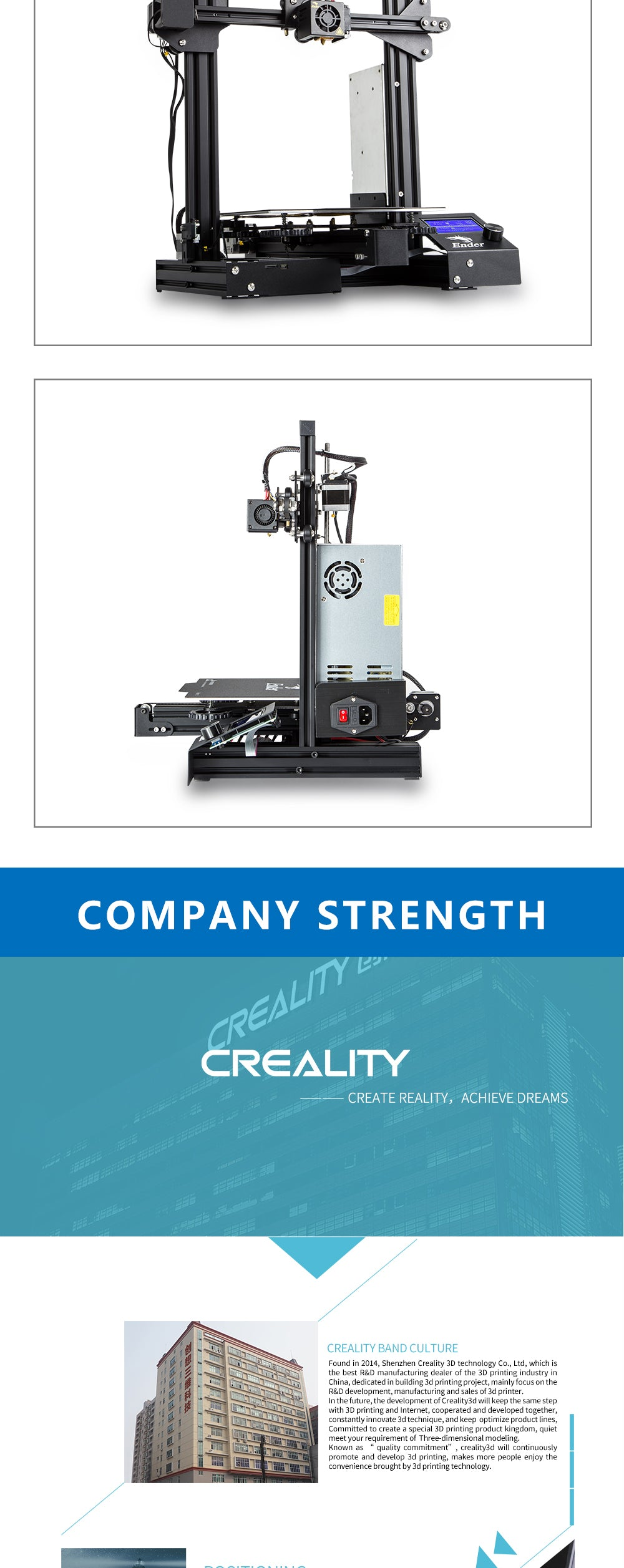 Creality 3D Ender3-pro
