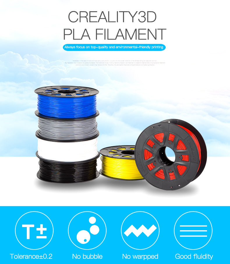 PLA filament 1.75mm 3D Printer