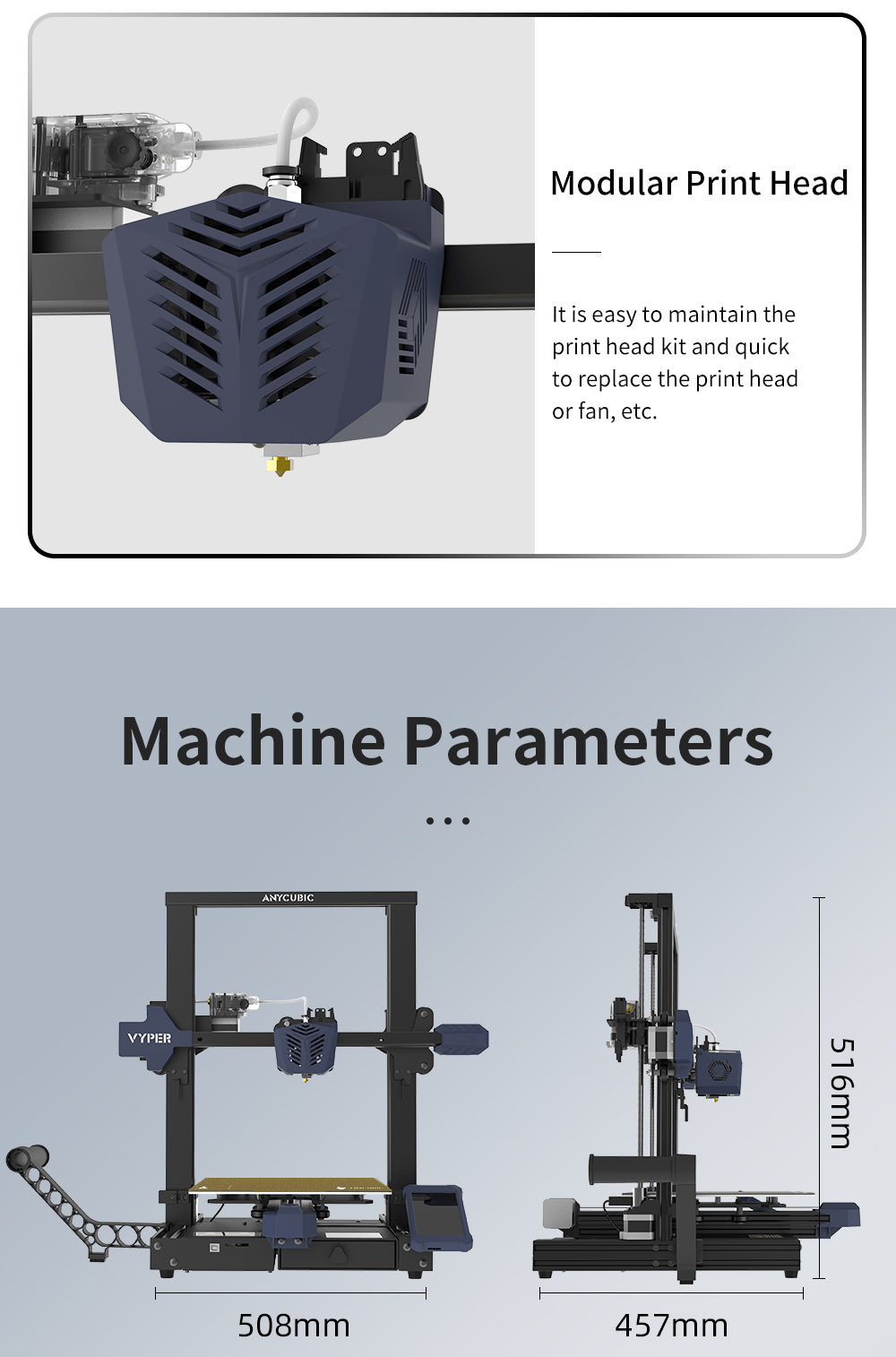 ANYCUBIC Vyper 3D Printers