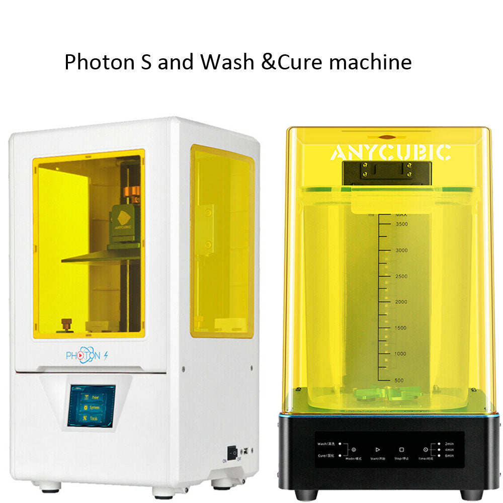Photon S and wash cure machine