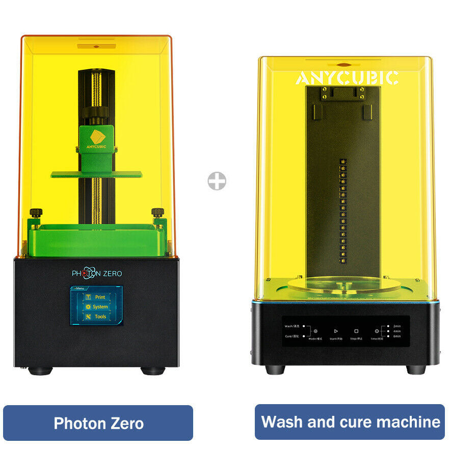Photon Zero and Wash & Cure kit