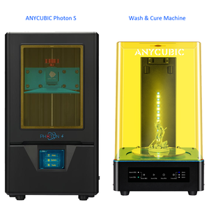 Photon S and wash cure machine Kit ANYCUBIC resin 3D Printer