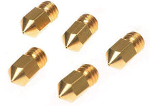 Load image into Gallery viewer, Brass MK8 Nozzle 0.4mm 5PCS