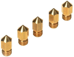 Brass MK8 Nozzle 0.4mm 5PCS