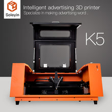 Load image into Gallery viewer, Intelligent advertising 3D printer Specialize in making advertising word Soleyin K5 600*600*70mm