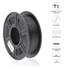 Load image into Gallery viewer, PLA Carbon Fiber 3D Printer ordinary filament 1.75mm 1kg/roll Fashion3d