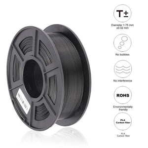 PLA Carbon Fiber 3D Printer ordinary filament 1.75mm 1kg/roll Fashion3d
