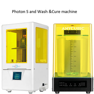 PhotonS and wash cure machine Kit ANYCUBIC resin 3D Printer