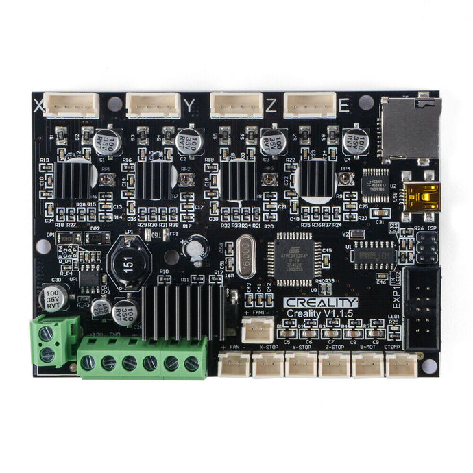 Silent Mainboard V1.1.5 with TMC2208 Driver for Ender 3 Pro 3D Printer TE1279