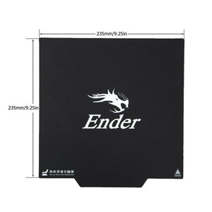 Creality 3D Ender-3/Ender-3 pro Magnetic Surface Plate Sticker Pads Heated Bed