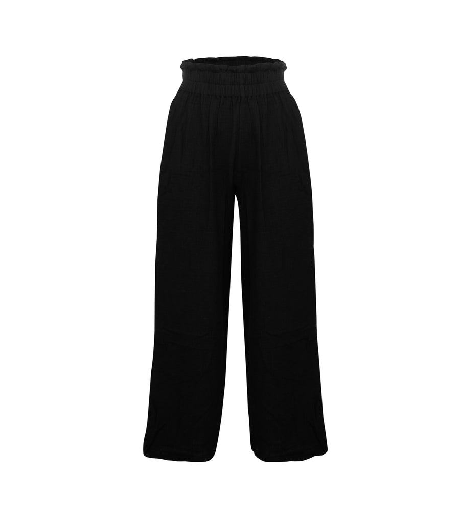 STAPLE RESORT PANT BLACK