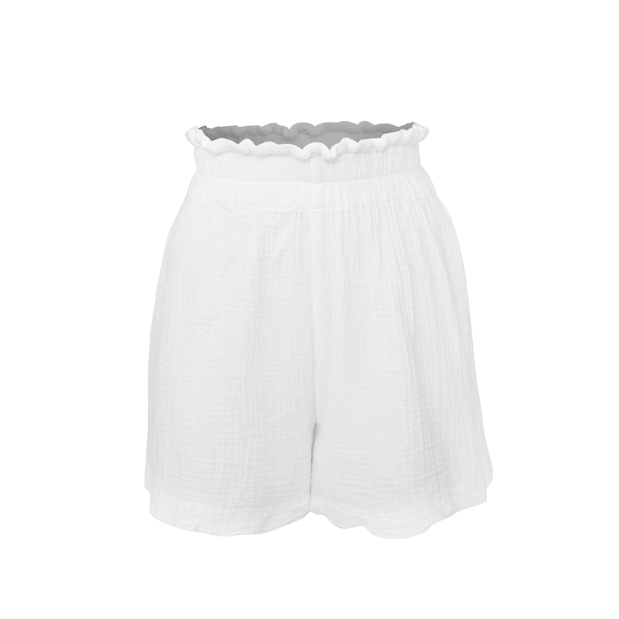 STAPLE RESORT SHORT WHITE