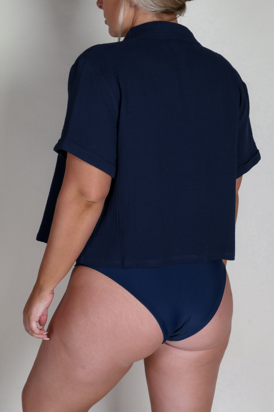STAPLE RESORT SHIRT NAVY