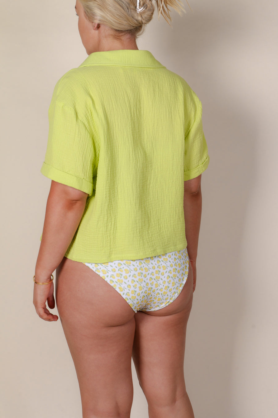 STAPLE RESORT TOP LIME
