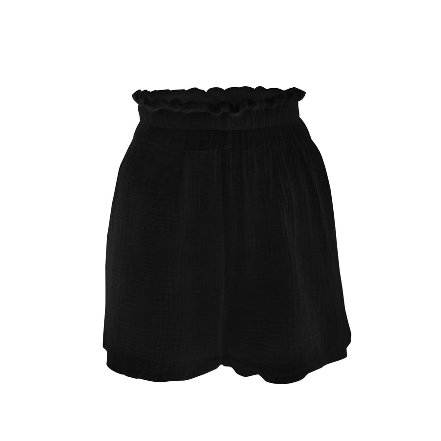 STAPLE RESORT SHORT BLACK