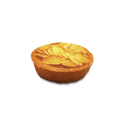 MINI BAKED ALMOND TART (BUNDLE OF 6) - Drips Bakery Café