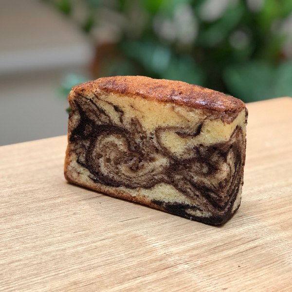 Chocolate Marble Tea Cake (Loaf)