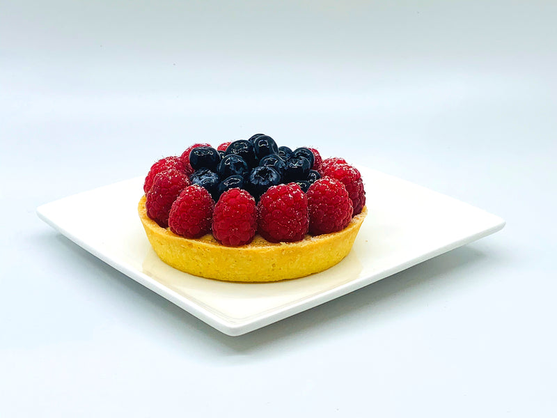 Seasonal Fresh Fruits Tart ( For 2 )