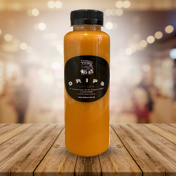 GOLD COLD BREW MILK COFFEE - Drips Bakery Café