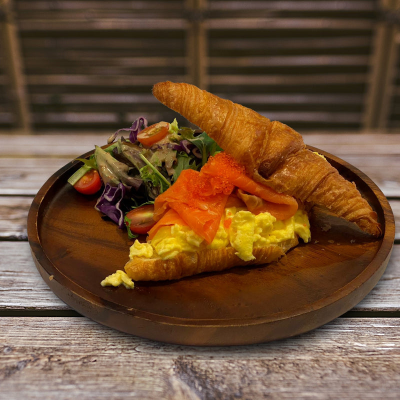 Smoked Salmon & Eggs Breakfast - Drips Bakery Café