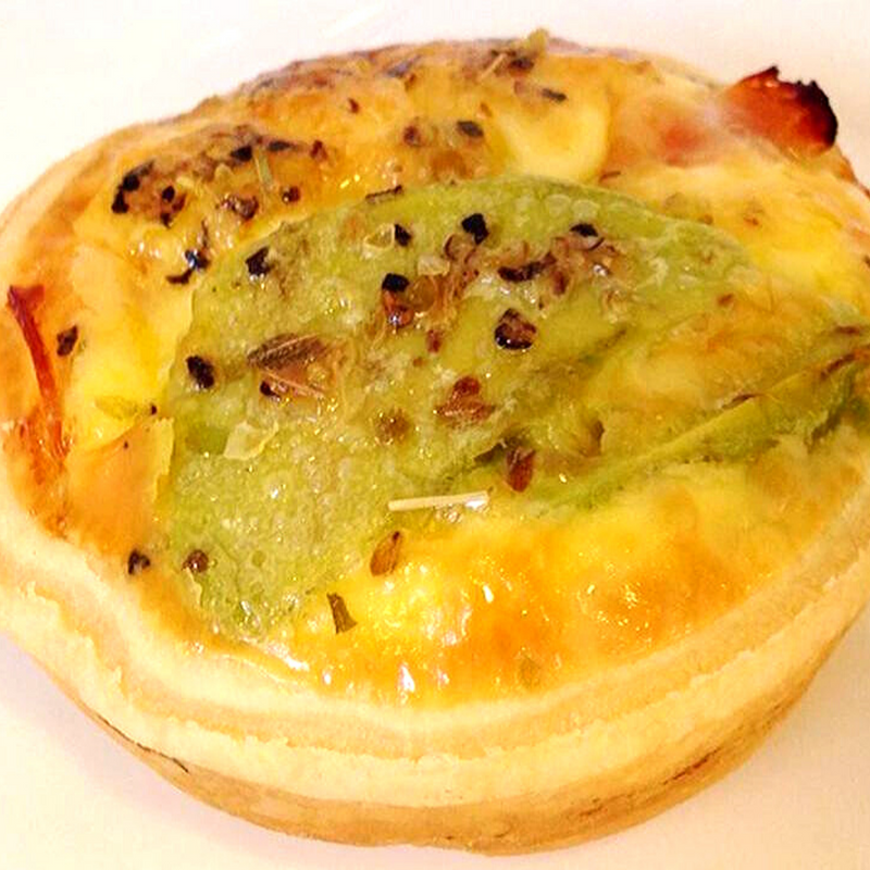 Mini Bacon and Cheese Quiche (Bundle of 12)