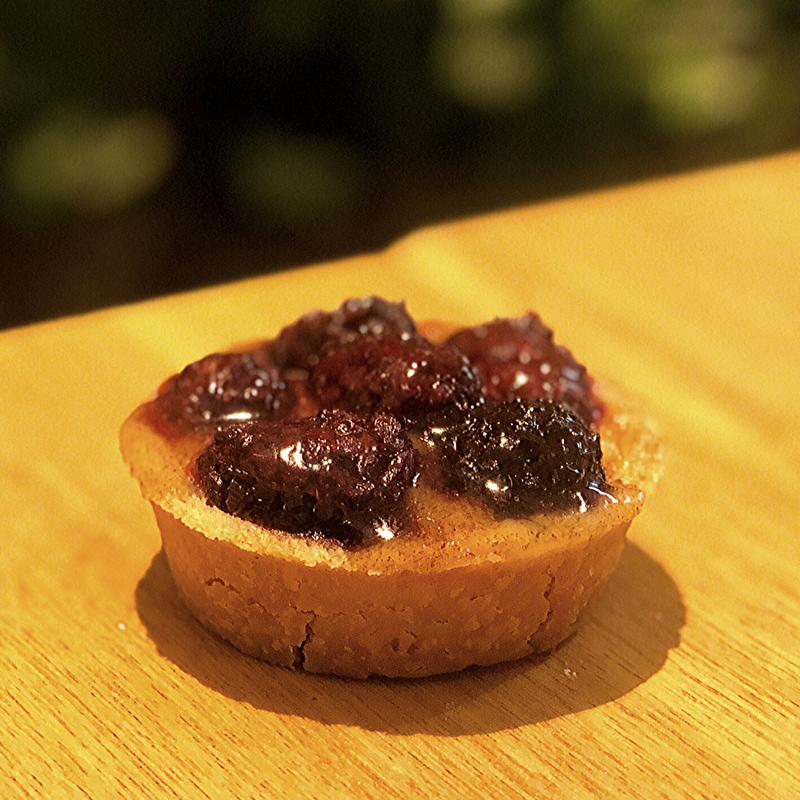 Mini Baked Cherry Brandy Tart (Bundle of 6) - Drips Bakery Café