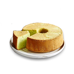Pandan Chiffon Cake (Whole) - Drips Bakery Café