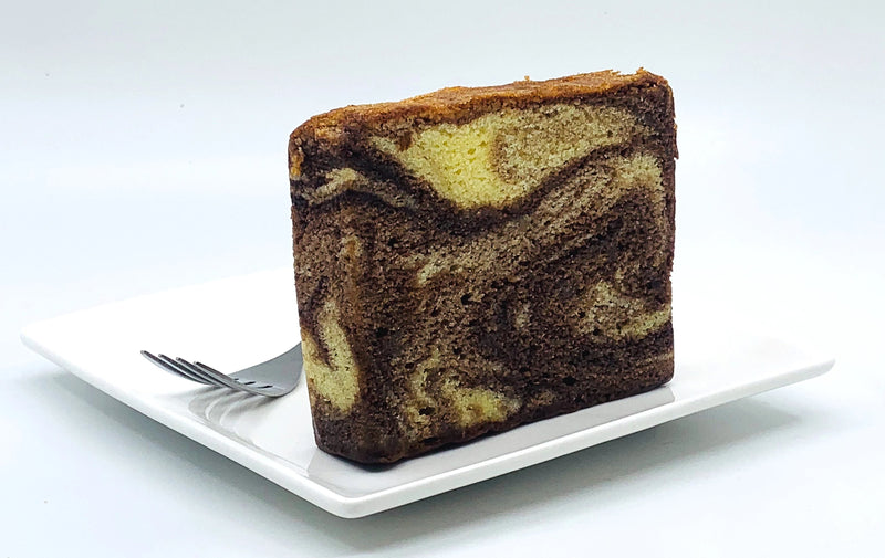 Chocolate Marble Tea Cake (Loaf) - Drips Bakery Café