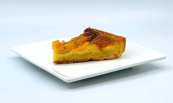 Cinnamon Pear Tart (sliced)