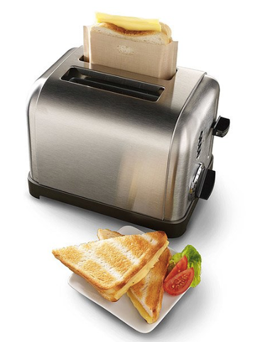 toaster grilled cheese bag