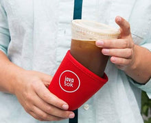 Load image into Gallery viewer, JAVA SOK, The Original Reusable Iced Coffee Sleeve