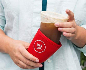 JAVA SOK, The Original Reusable Iced Coffee Sleeve