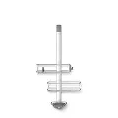 over door adjustable shower caddy - front view no props image