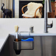 sink caddy - lifestyle attached to sink