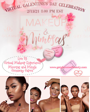 Virtual Makeup & Mimosas Ticket Only