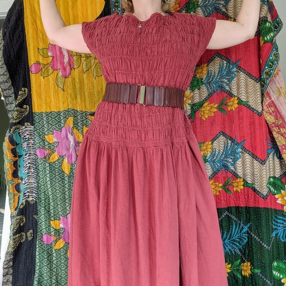 Incredible vintage cotton dress.
