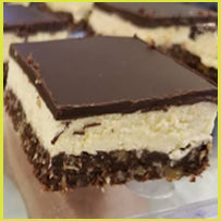 Load image into Gallery viewer, 4 Keto Nanaimo Bars