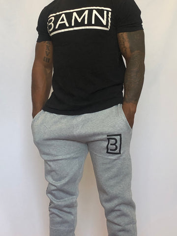 BAMN Grey Sweatpants